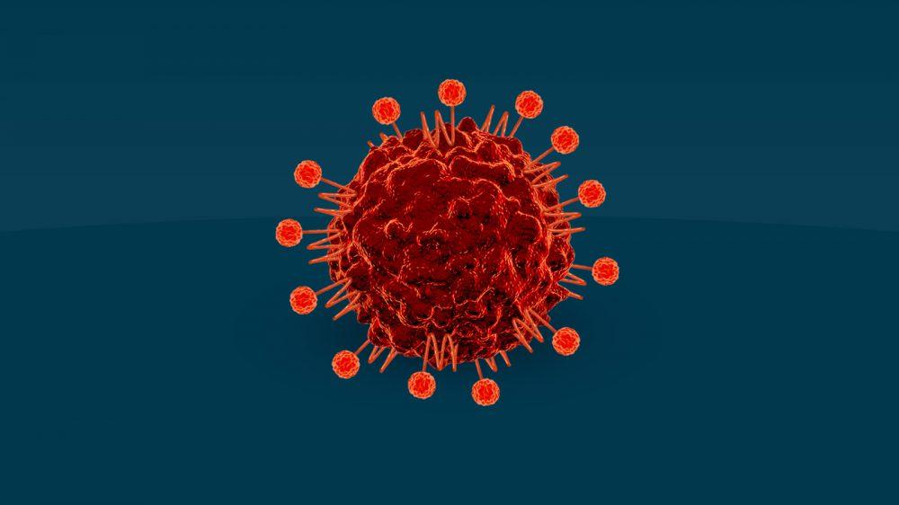 Tumor cell expressing CD47